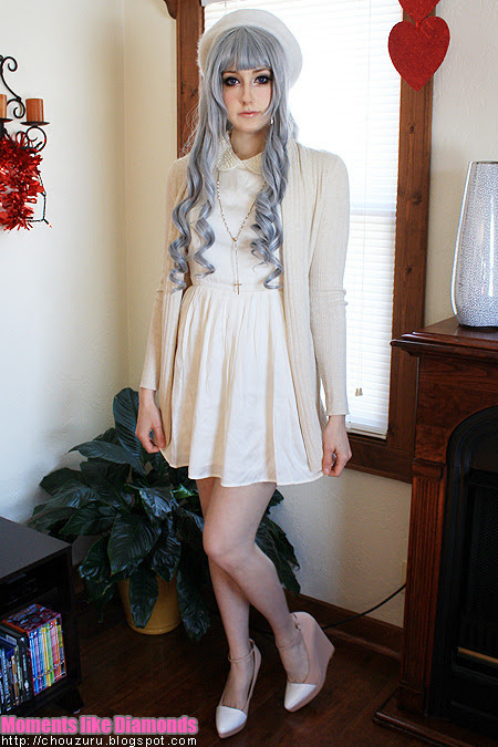 It's been on my blog, but here's an outfit for y'all~Hat: TargetCardigan: TargetDress: F21Shoes: Kimchi Blue