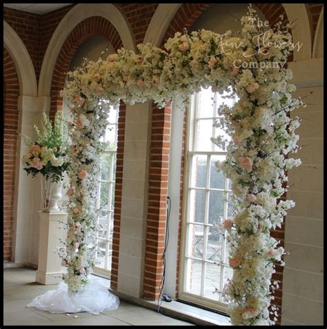Wedding Flowers Arch Hire   The Fine Flower Company