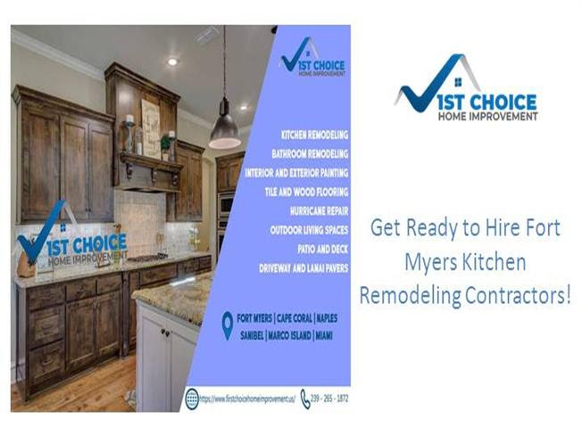 Design You Dream Kitchen In Fort Myers 1st Choice Home Improveme Authorstream
