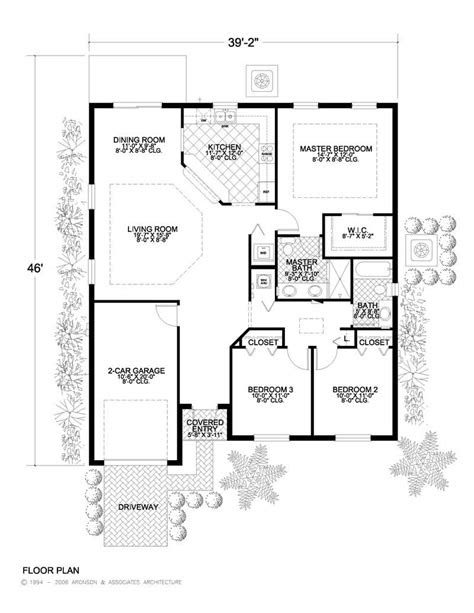 california style home plan  bedrms  baths  sq