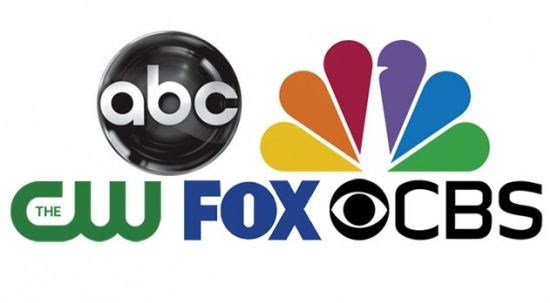 ABC, NBC, The CW, Fox and CBS