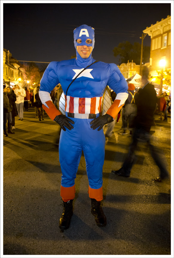 Halloween in the CWE 2012 8 (Captain America)