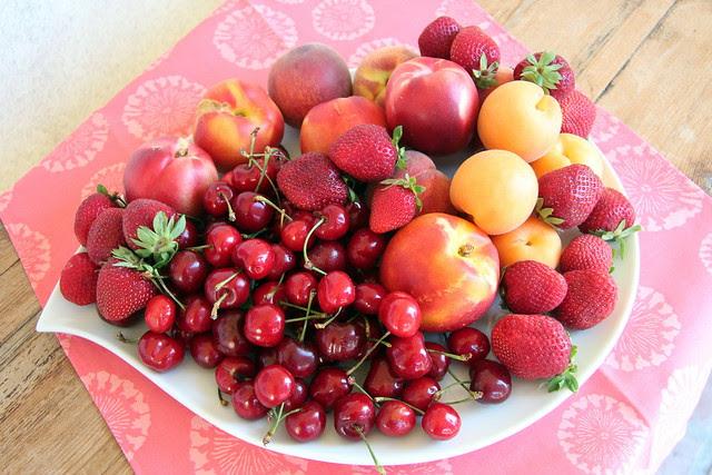 Farmers Market Summer Fruits