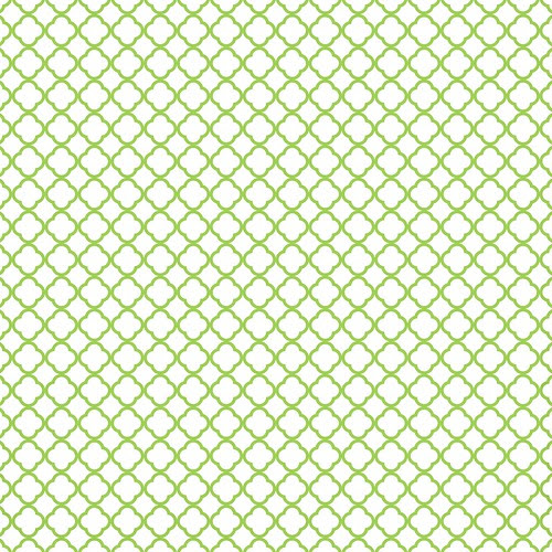 8-green_apple_BRIGHT_small_QUATREFOIL_OUTLINE_melstampz_12_and_a_half_inches_SQ