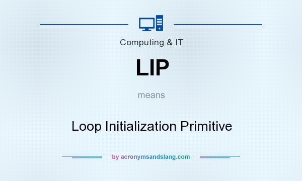 Lip Loop Initialization Primitive In Business Finance By