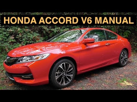 2016 honda accord v6 manual 2dr ex l review test drive engineering explained. Black Bedroom Furniture Sets. Home Design Ideas