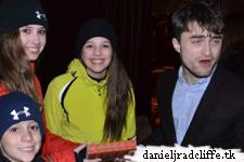 Mexican Fan meets Daniel at Sundance
