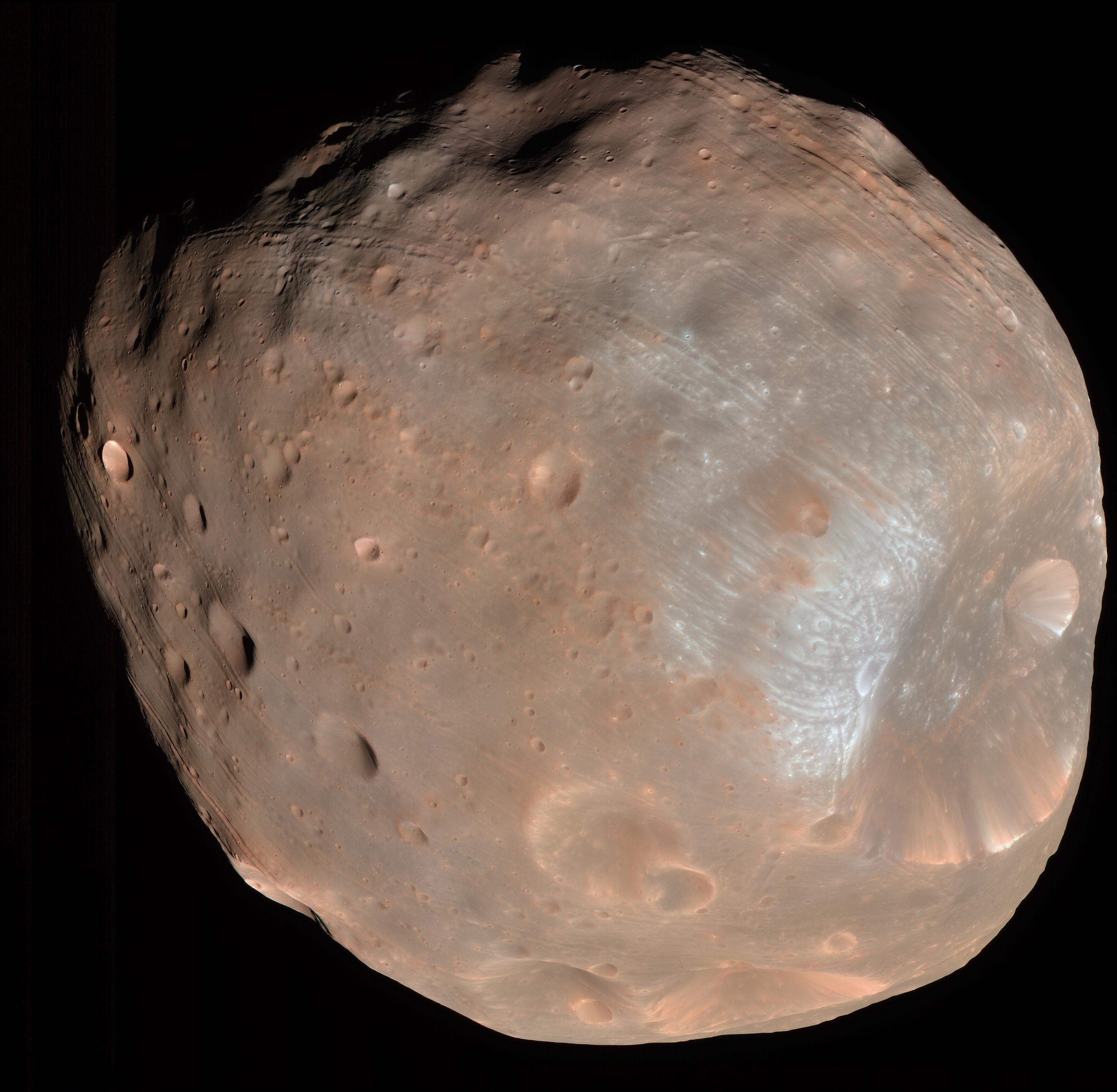 Lunas condenadas de Marte