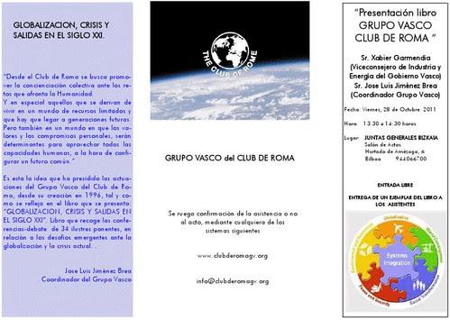 GLOBALIZACION. Desafíos mundiales, europeos, españoles y en el País Vasco. CRISIS Y SALIDAS EN EL SIGLO XXI
