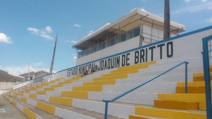 Estádio Joaquim de Brito (Foto: Divulgação: Whenio Thyago)