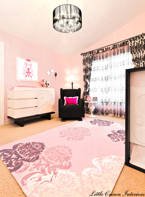 Black Girl's Designer Nursery Project