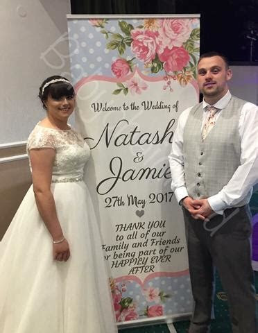 Personalised Wedding Welcome Banners