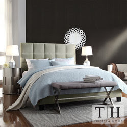 Tufted King Bed Home Products on Houzz