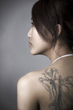Cherub Tattoos on Angel   Cherub Tattoos