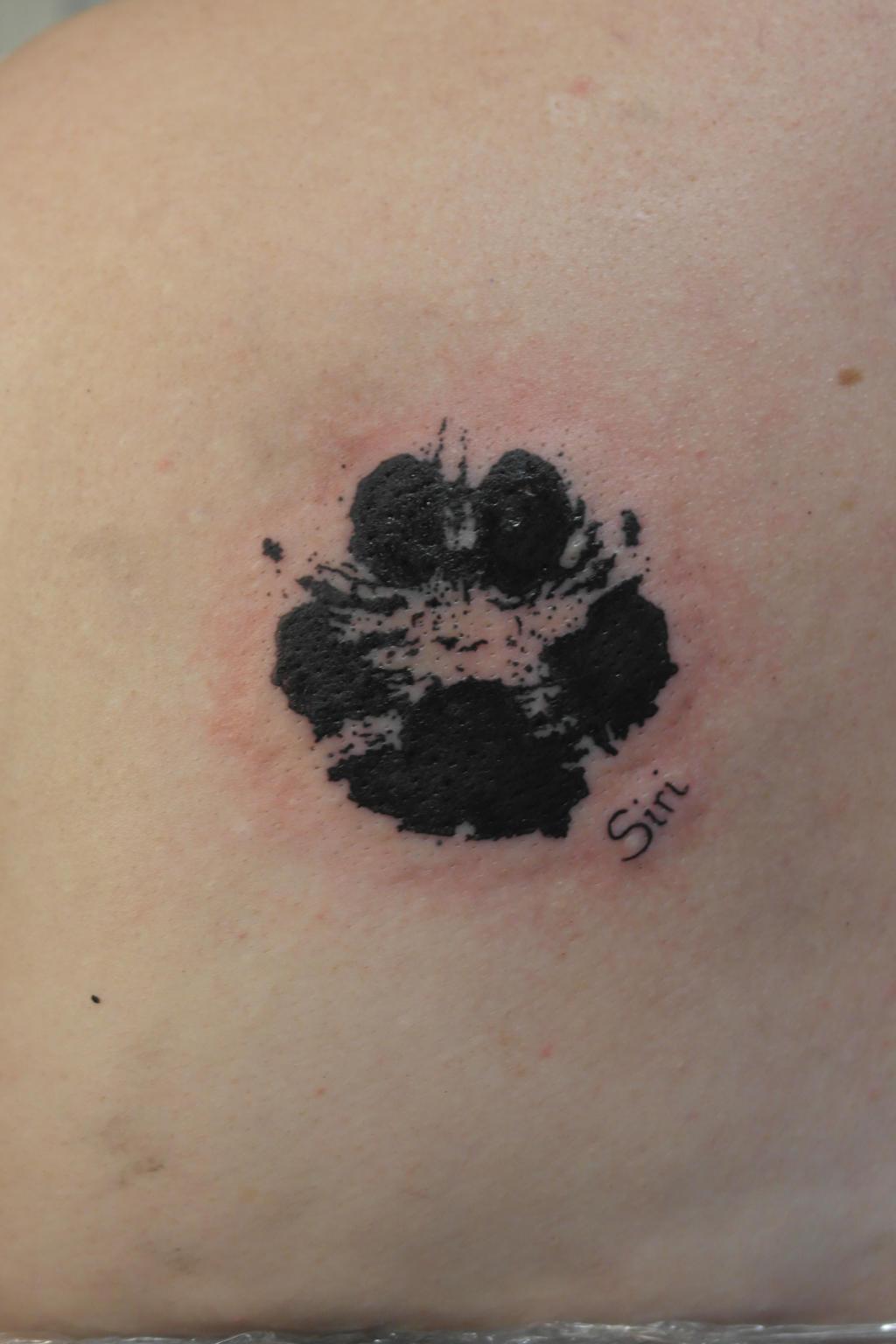 dog paw tattoo by ArthouseGrafika on DeviantArt