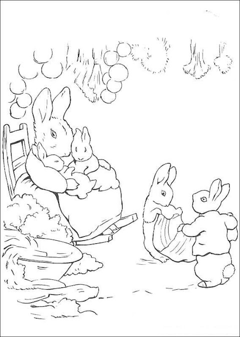 Trends For Peter Rabbit Coloring Pages