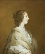 Henrietta-Maria (1603–1669) Studio of Van Dyck Repro ID BHC2761 Copyright National Maritime Museum