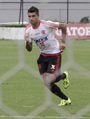 ederson treino flamengo (Foto: Gilvan de Souza/ Flamengo)