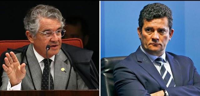 Marco Aurélio ironiza Moro e sugere que ele talvez seja leigo em matéria de direito