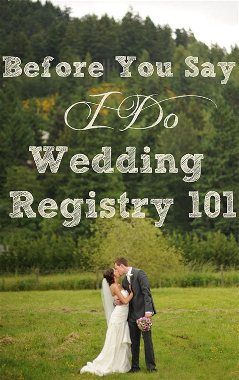Wedding Registry 101   The Things We Would Blog