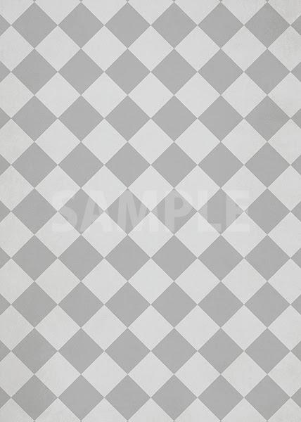 灰色のハーリキンチェック柄のa4サイズ背景素材 無料 商用可能 サイズ 背景テンプレートダウンロードサイト