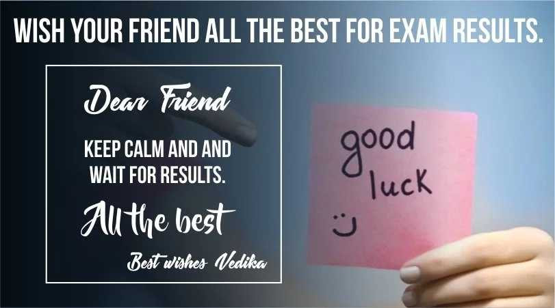 Scooper Education News Exams Wishes Best Wishes In Exams For Friends