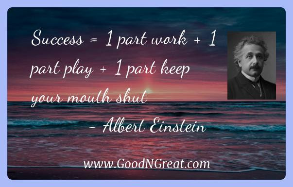 Top Albert Einstein Quotes Good And Great