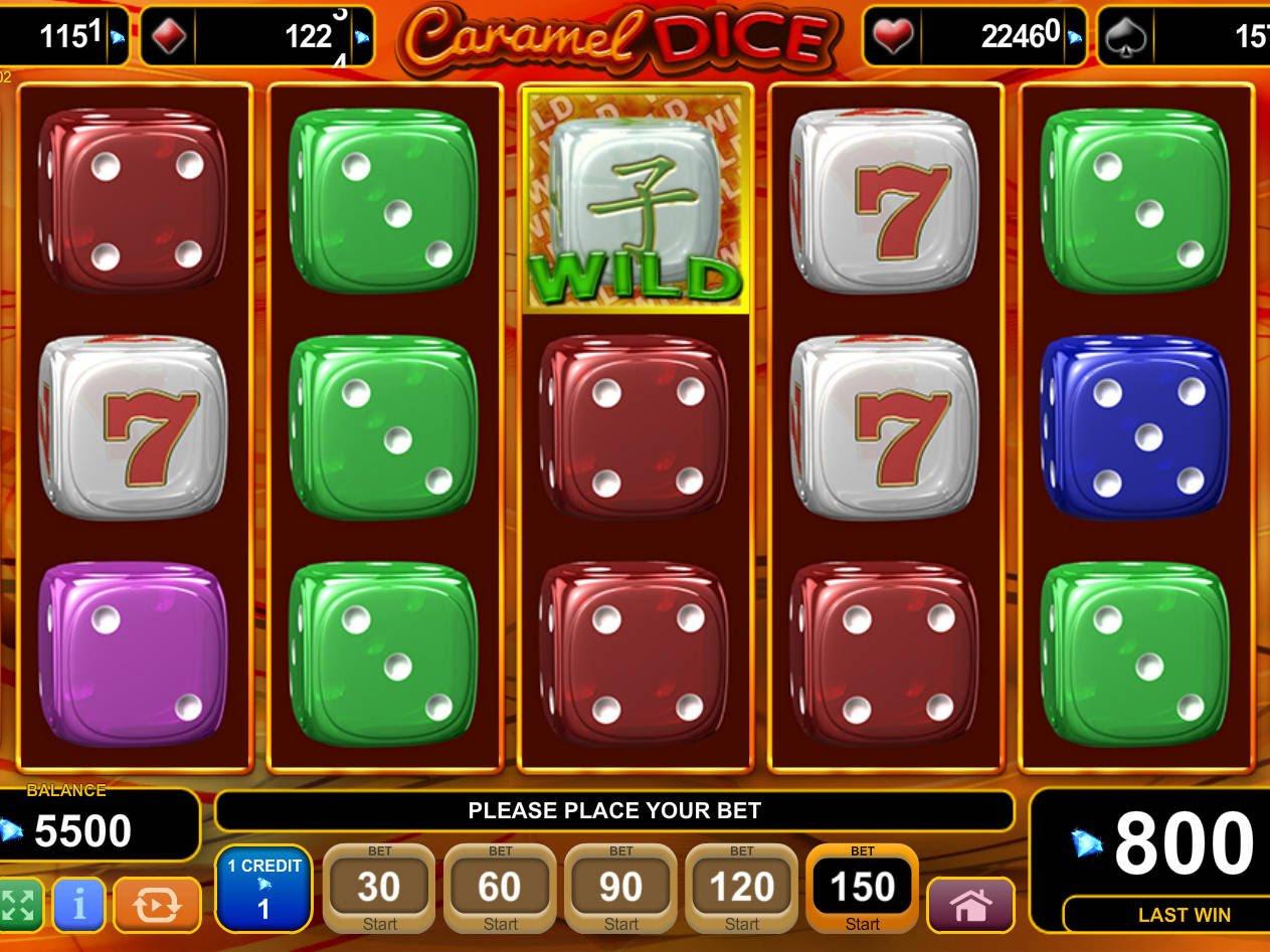 Игры онлайн caramel dice карамельные кубики игровой автомат ставок