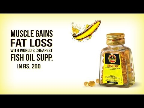 Seven Seas Fish Oil - World's Cheapest Fish Oil Supplement for Muscle Gain & Fat Loss