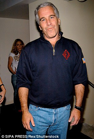 Bill Clinton also took as many as twenty-six trips between 2001 and 2003 on now-convicted pedophile Jeffery Epstein's (pictured) 'Lolita Express'
