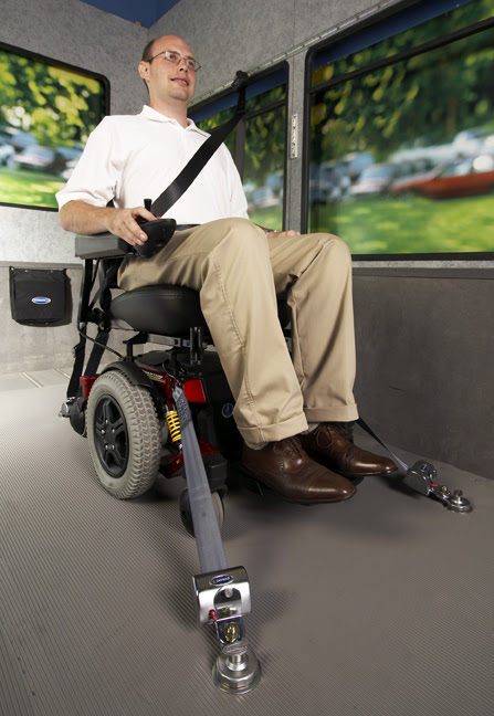 Types Of Wheelchair Securement Systems Safety Necessities