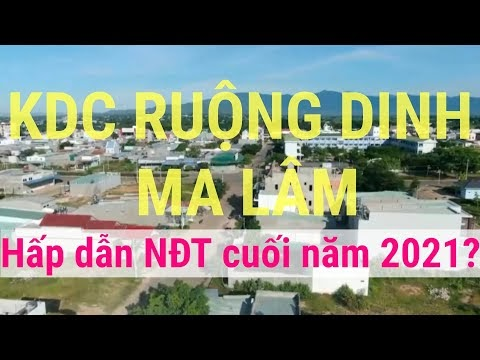 KDC Ruộng Dinh thị trấn Ma Lâm có gì hấp dẫn nhà đầu tư đến vậy?