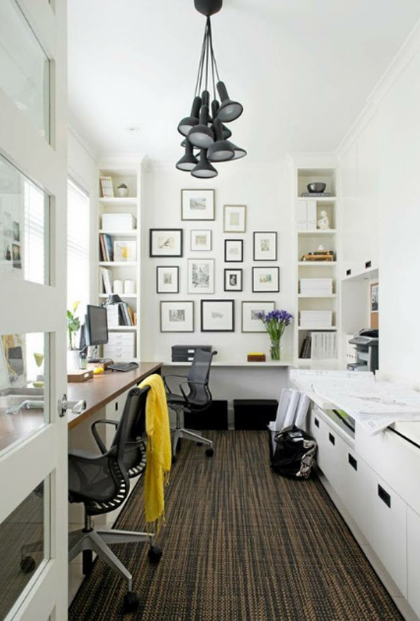 Small Home Office Design Ideas Home Office Paint Color ...