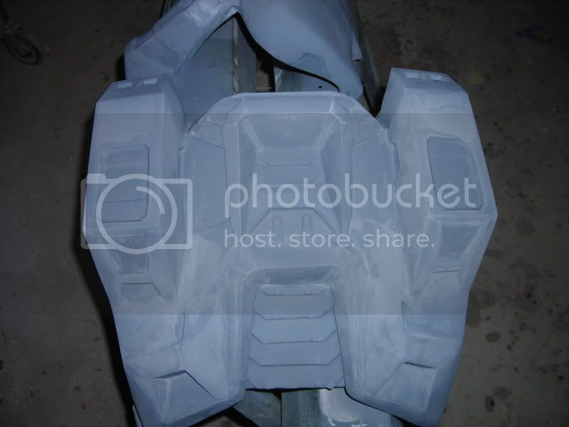 Halo back armor