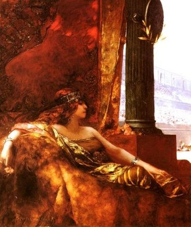 La Emperatriz Teodora en el Coliseo (Benjamin-Constant)