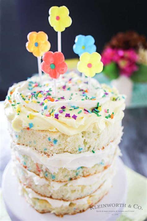 Spring Funfetti® Cake   Kleinworth & Co