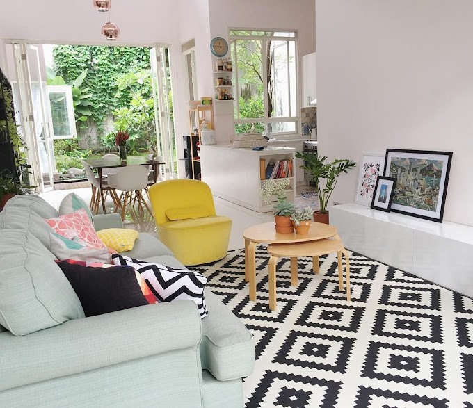 Gambar Hitam Putih Ruang Tamu | Ide Rumah Minimalis