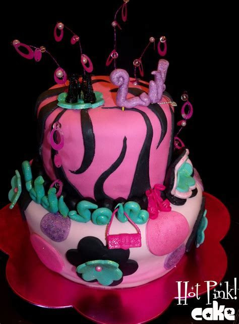 Hot Pink! Cakes: Super Girly Cake
