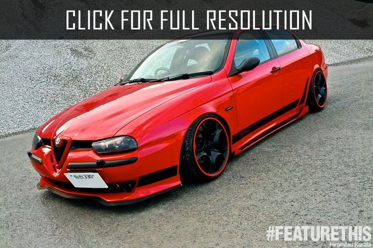 Alfa Romeo 156 Modified  amazing photo gallery, some information and specifications, as well as