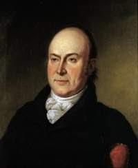 """John Quincy Adams formuló la tesis conocida como """"La fruta madura""""."""