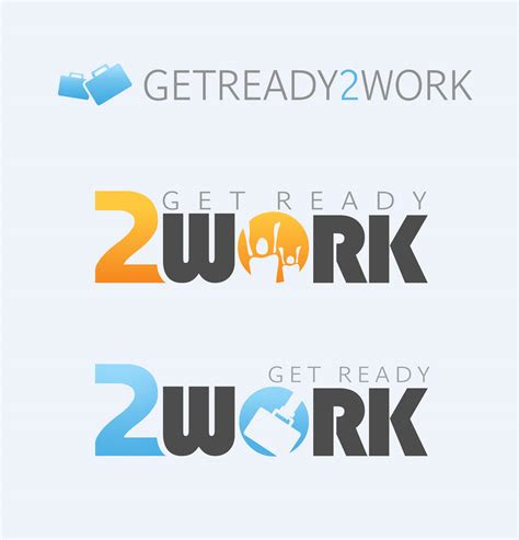 ready  work logo design brokkolli