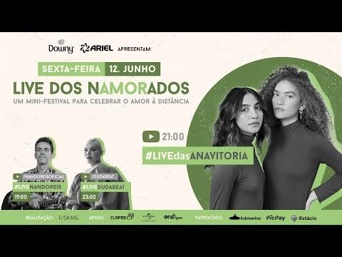 ANAVITÓRIA - Live do Dia dos Namorados | FiqueEmCasa e Cante #Comigo