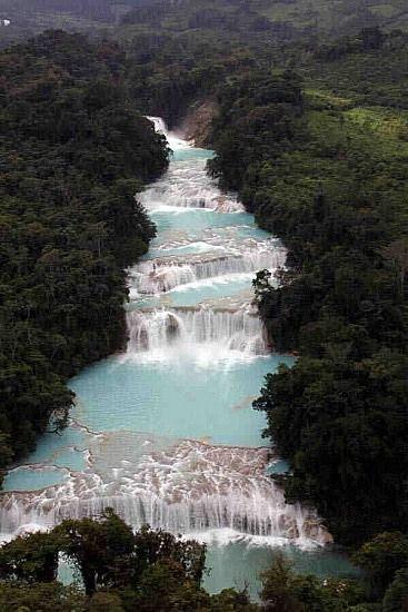 Cascadas de Agua Azul   Palenque   Mexico