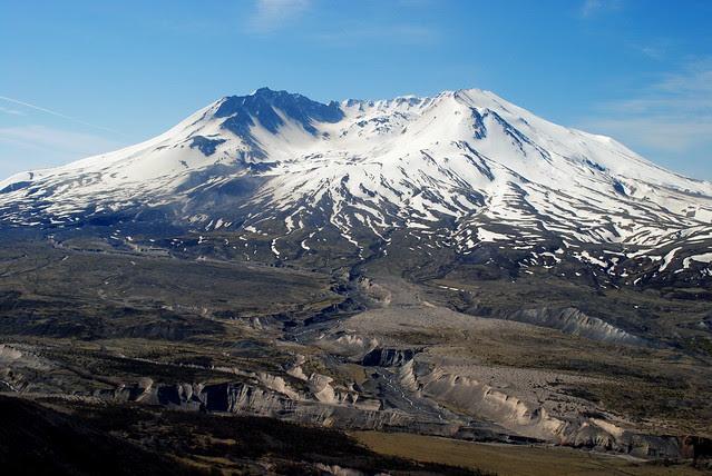 Mt. St. Helens from Johnston Ridge Observatory