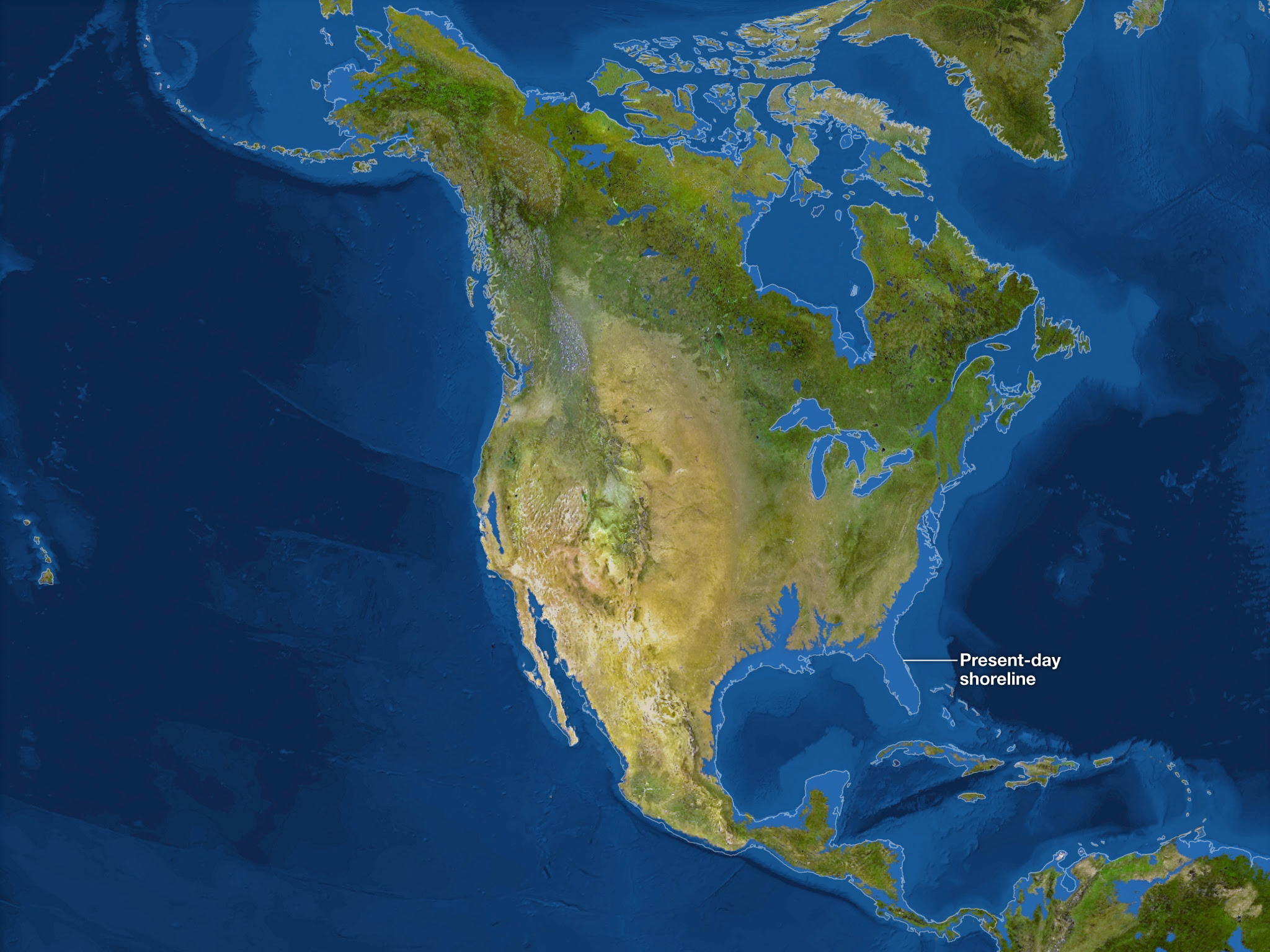 Us Map Without Florida.Map Of World After Ice Caps Melt Map Of Us Western States