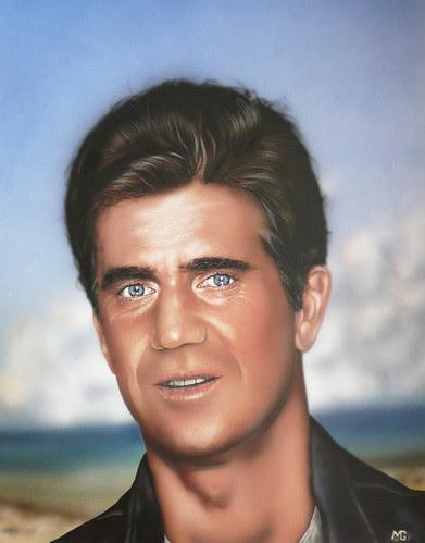 mel gibson crazy beard. Young Mel Gibson