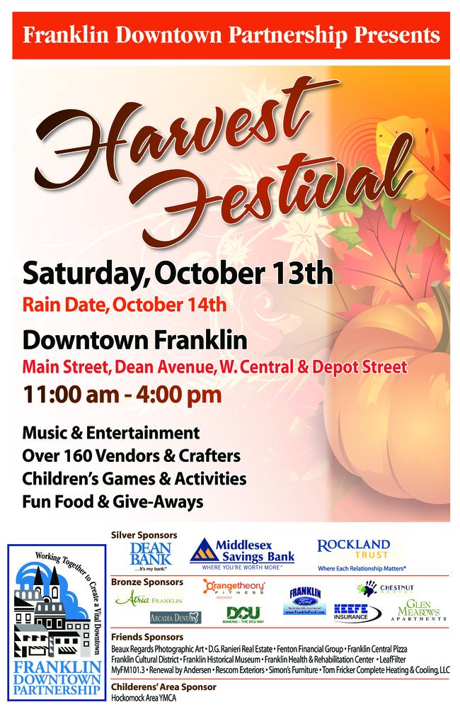 Harvest Festival - Downtown Franklin - Oct 13
