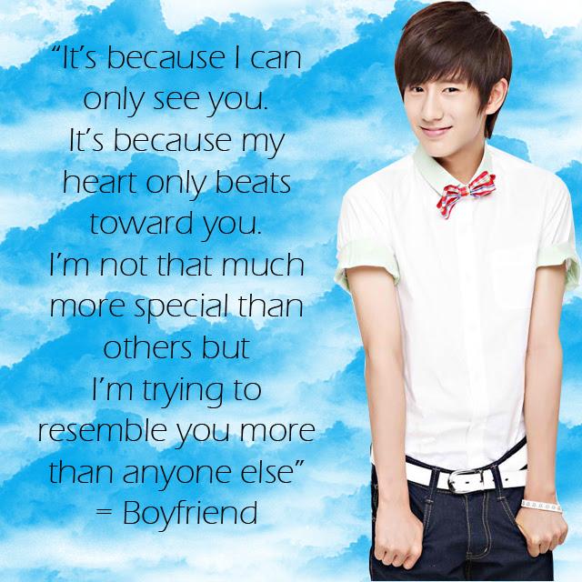 Kpop Frases Facts Imagenes Boyfriend Amor Style Fondo De