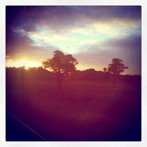 On the train to London has some beautiful moments