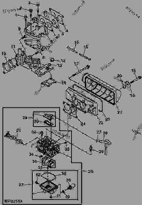 Wiring Diagram  29 John Deere Gator Carburetor Diagram